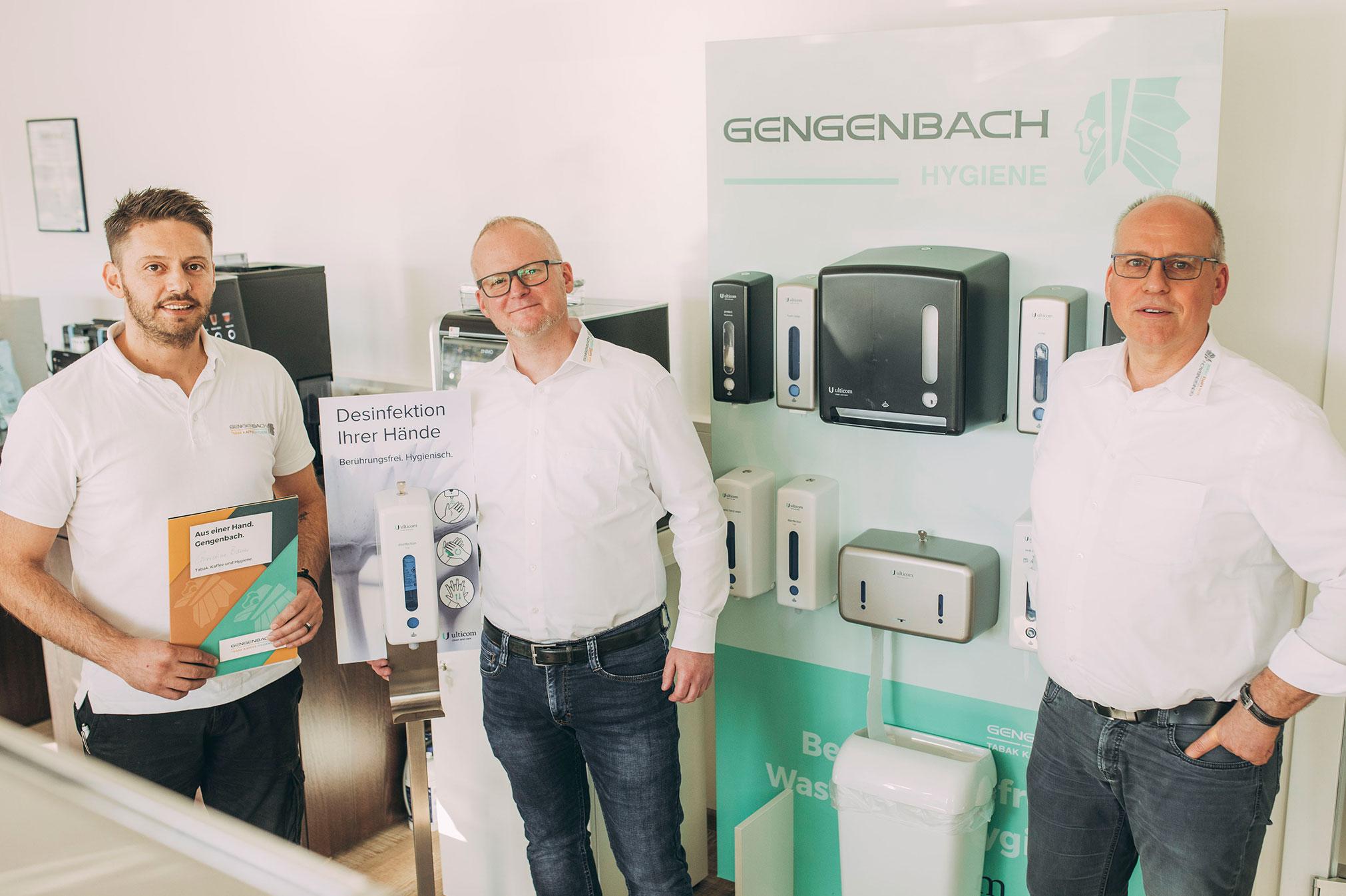 Gengenbach bietet Kontaktlose Seifen- und Desinfektionsspender in Schwäbisch Hall