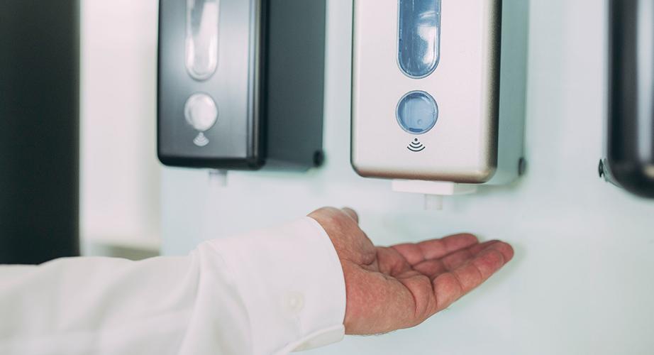 Berührungslose Seifenspender aus Schwäbisch Hall haben viele Vorteile für Sie.