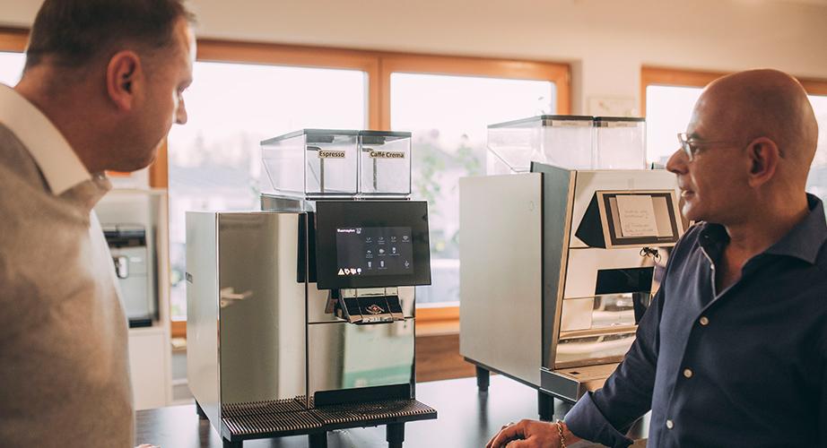 Kaffeevollautomaten in Schwäbisch Hall mieten – das Gengenbach-Team berät Sie gerne