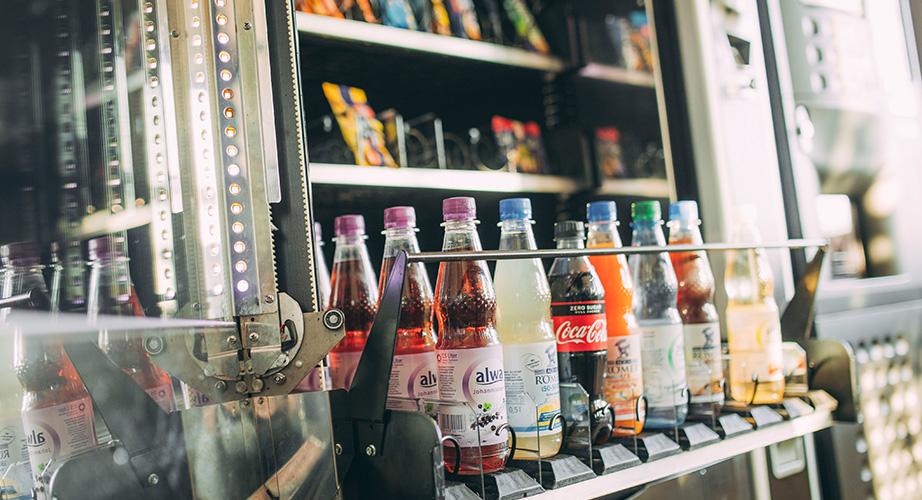 Gengenbach übernimmt die Verpflegung mit Getränken für Snackautomaten in Schwäbisch Hall